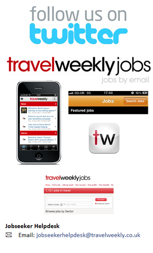 Receive the latest travel jobs