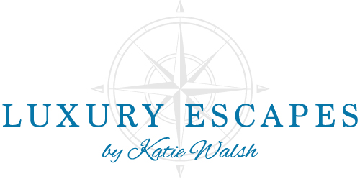 Luxury Escapes by Katie Walsh logo